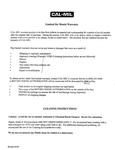 Cal-Mil's Warranty Information