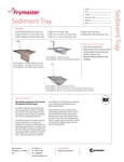 Crumb Tray Spec Sheet