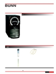 Bunn LCA-1 Liquid Coffee Dispenser Specs