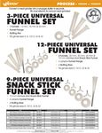 Funnel Sets Spec Sheet