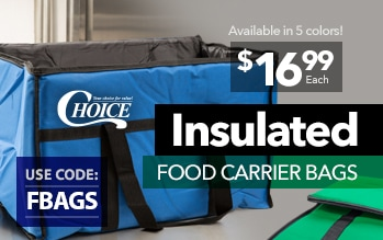 Insulated Food Carrier Bags