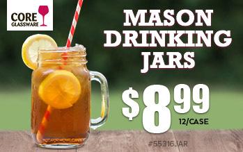 Mason Drinking Jars