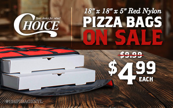 Choice Pizza Bags