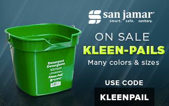 San Jamar Kleen-Pails on sale