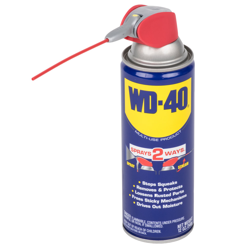 WD-40 12 oz. Spray Lubricant with Smart Straw - 12/Case