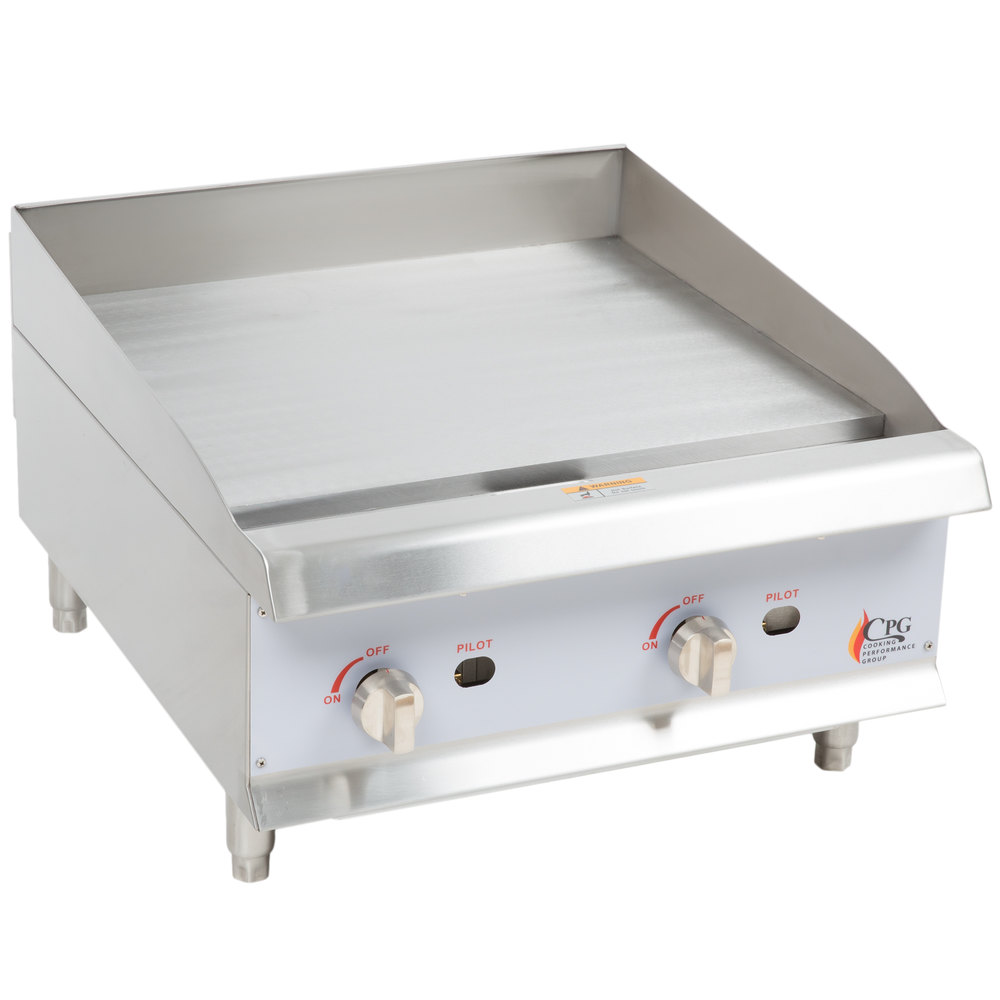 24 Gas Griddle ~ Cooking performance group g quot gas countertop griddle