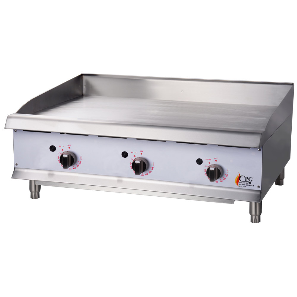 Countertop Gas Griddle : Cooking Performance Group G36T 36