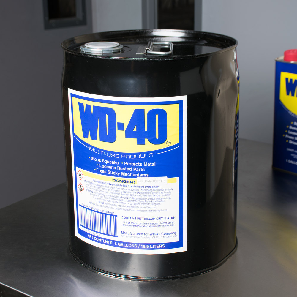 wd 40 5 gallon heavy duty lubricant. Black Bedroom Furniture Sets. Home Design Ideas