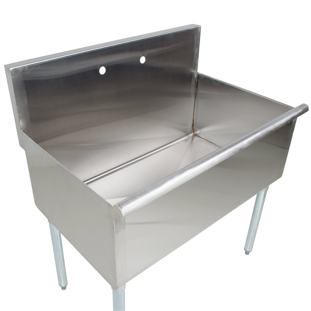 Stainless Steel Utility Sink With Legs : Regency One Bowl 36