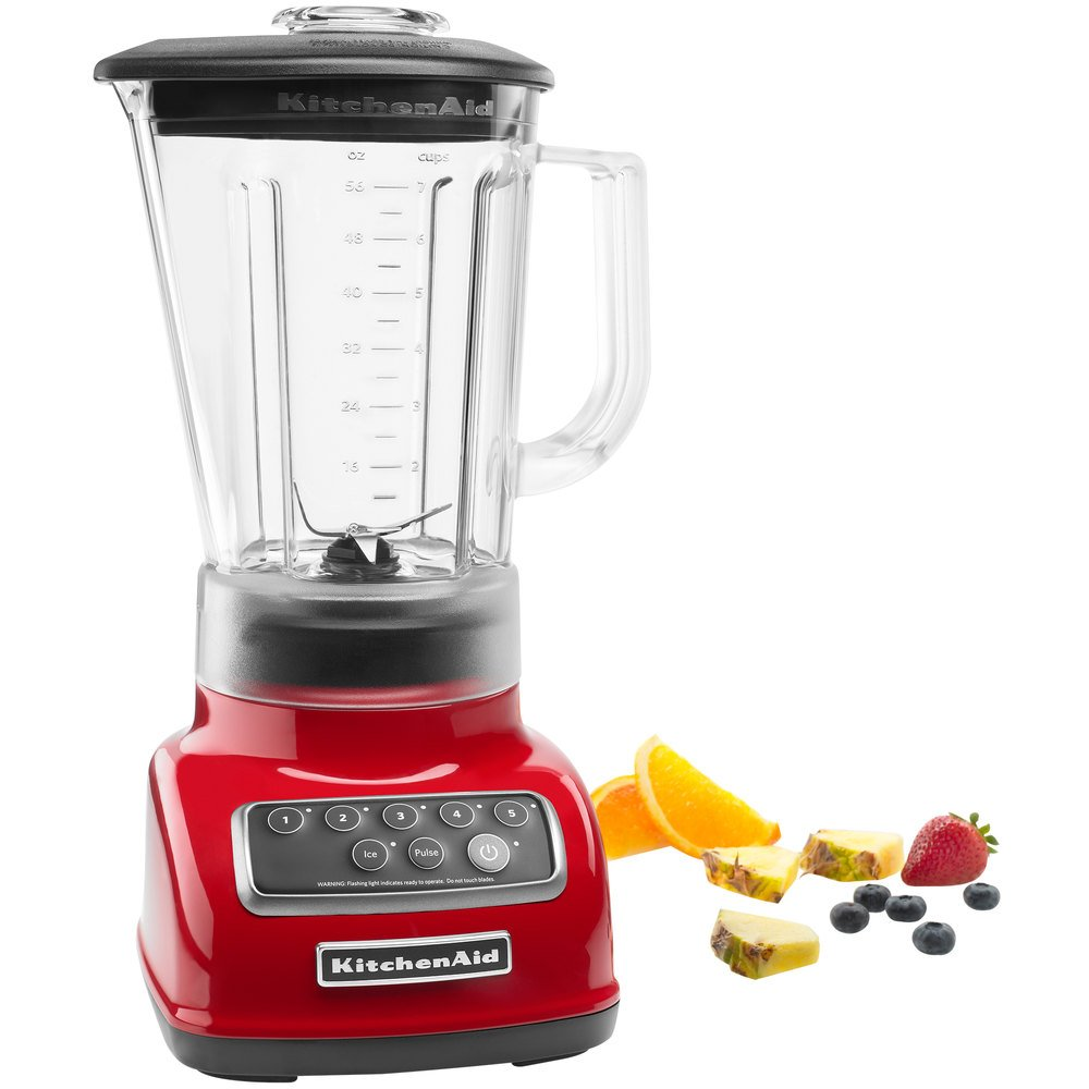 kitchenaid ksb1570er empire red 56 oz five speed blender