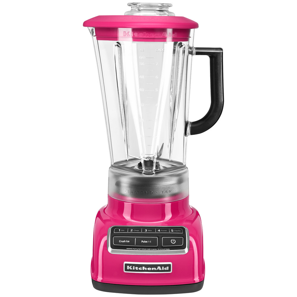 kitchenaid ksb1575cb cranberry diamond 60 oz five speed blender