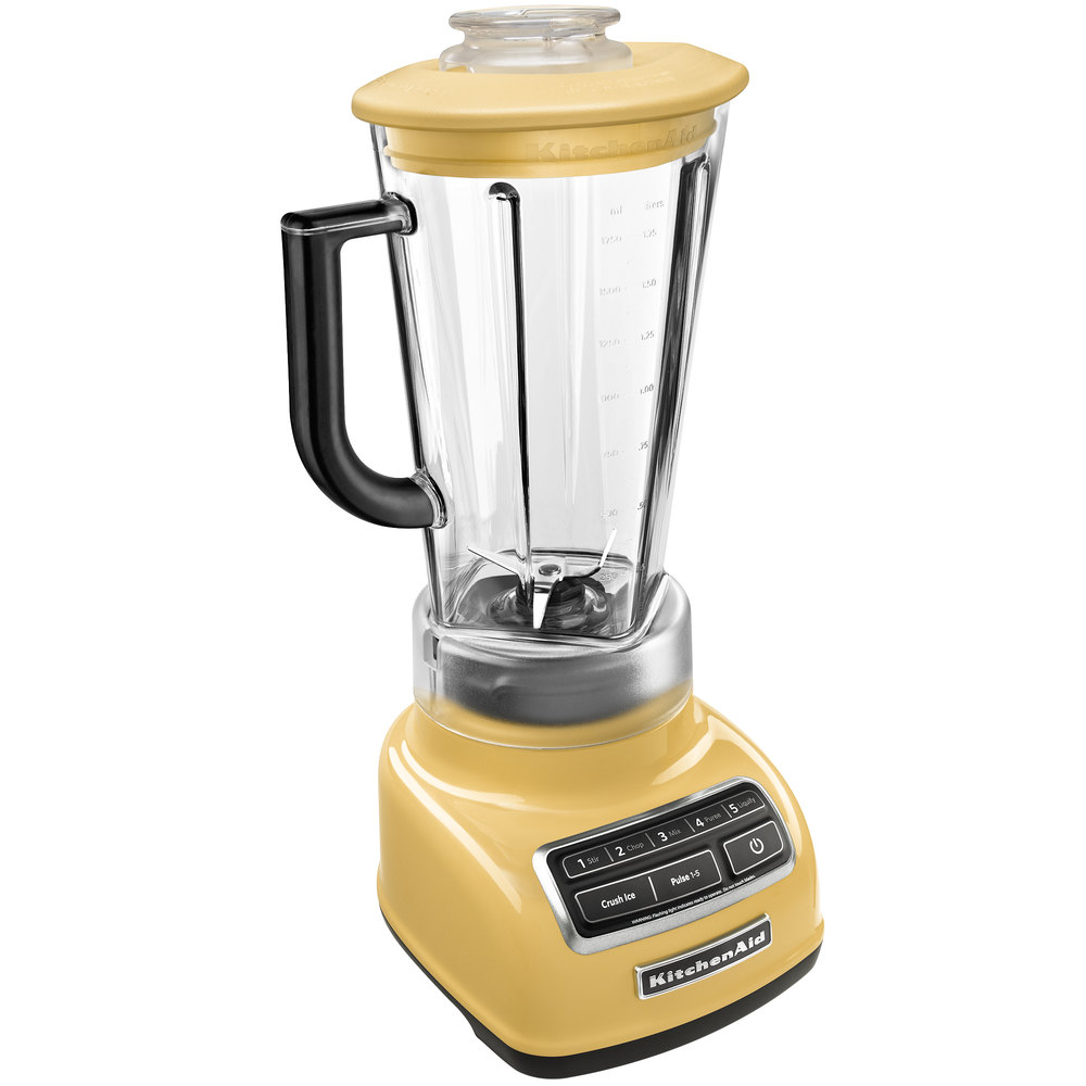 KitchenAid KSB1575MY Majestic Yellow Diamond 60 oz Five  -> Kitchenaid Yellow