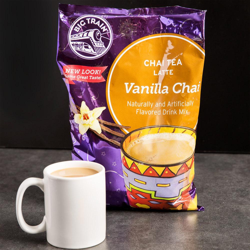 Big Train Vanilla Chai Tea Latte Mix - 3.5 lb.