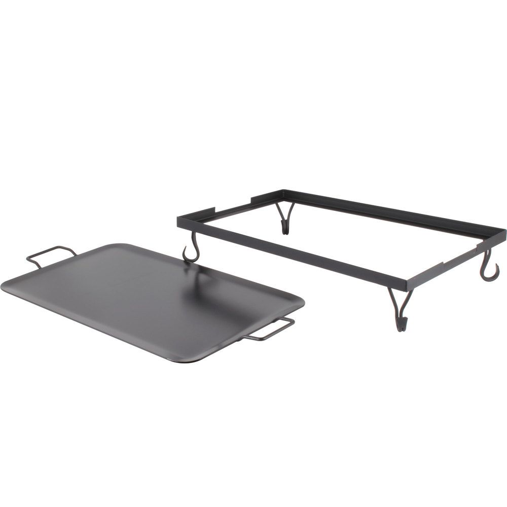 Full Size Griddle ~ American metalcraft gs iron griddle with stand full size