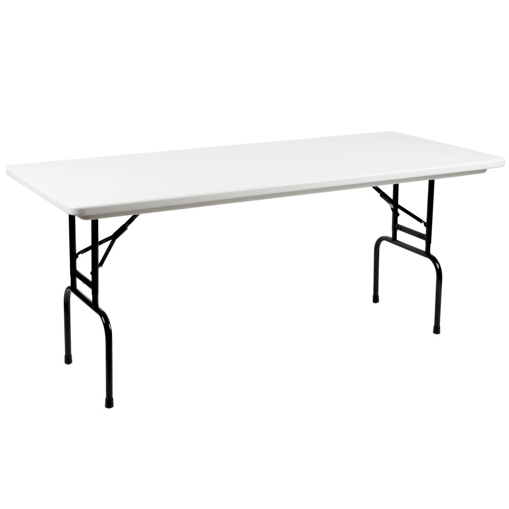 correll bar height folding table 30 x 72 adjustable
