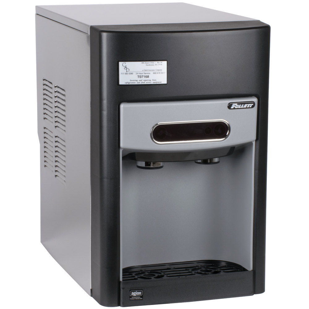 ... Air Cooled Countertop Ice Maker and Water Dispenser - 15 lb. Storage