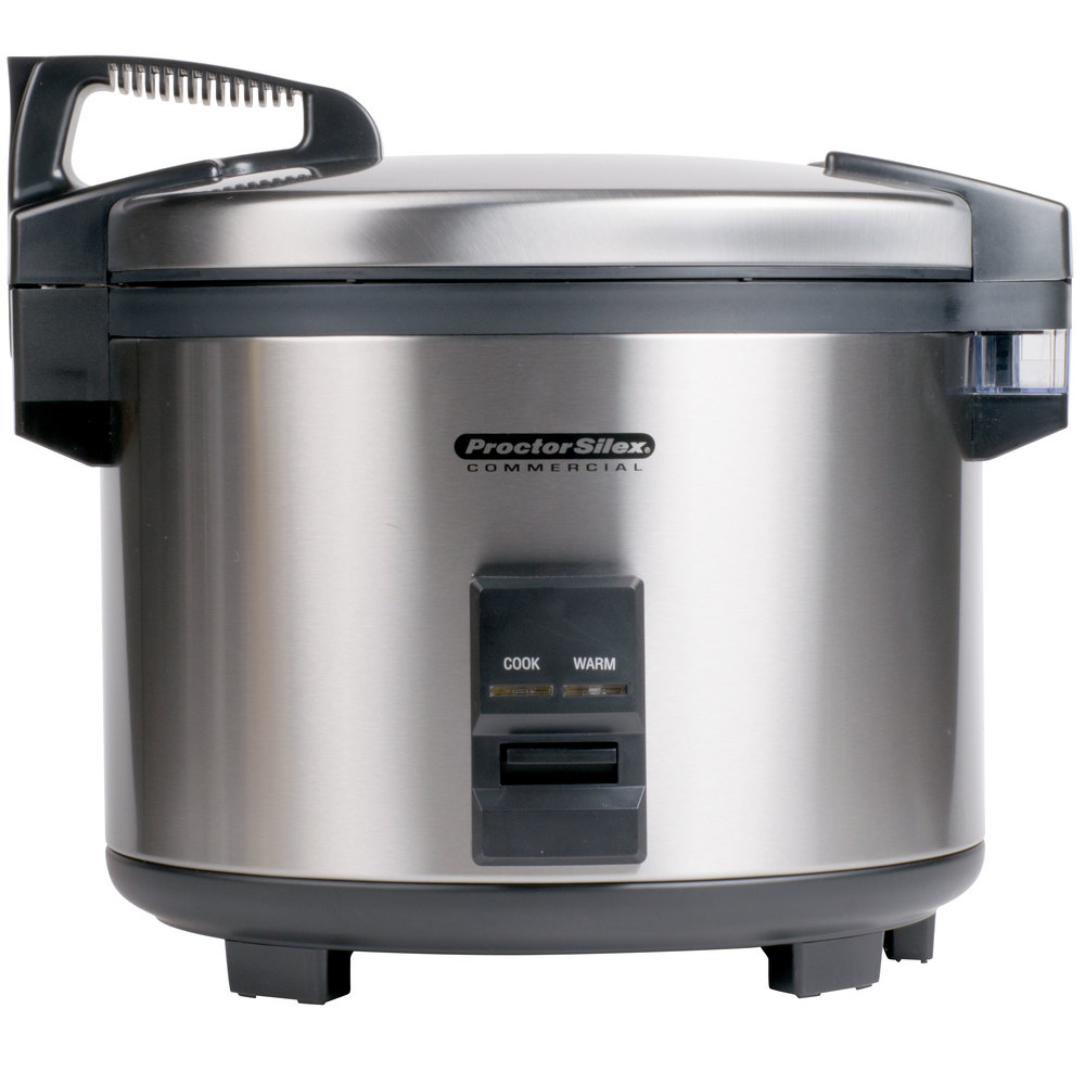 Electric Rice Steamer ~ Proctor silex r cup raw electric rice
