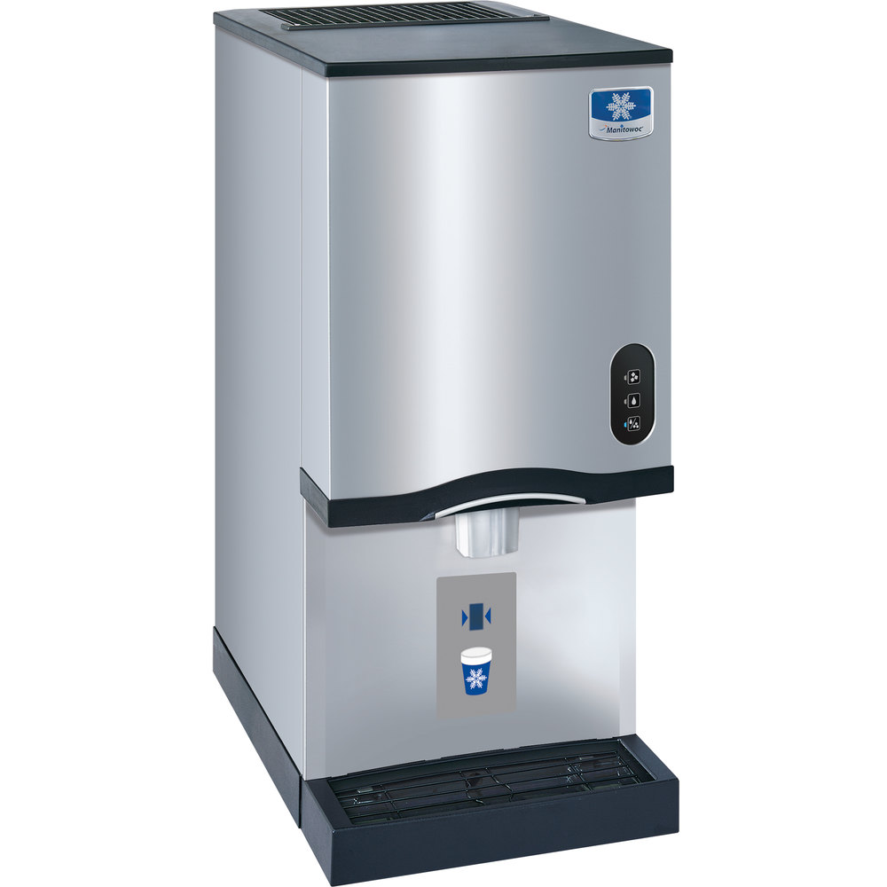 Countertop Ice Machine Australia : Manitowoc RNS-12AT Air Cooled Countertop Ice Maker and Water Dispenser ...