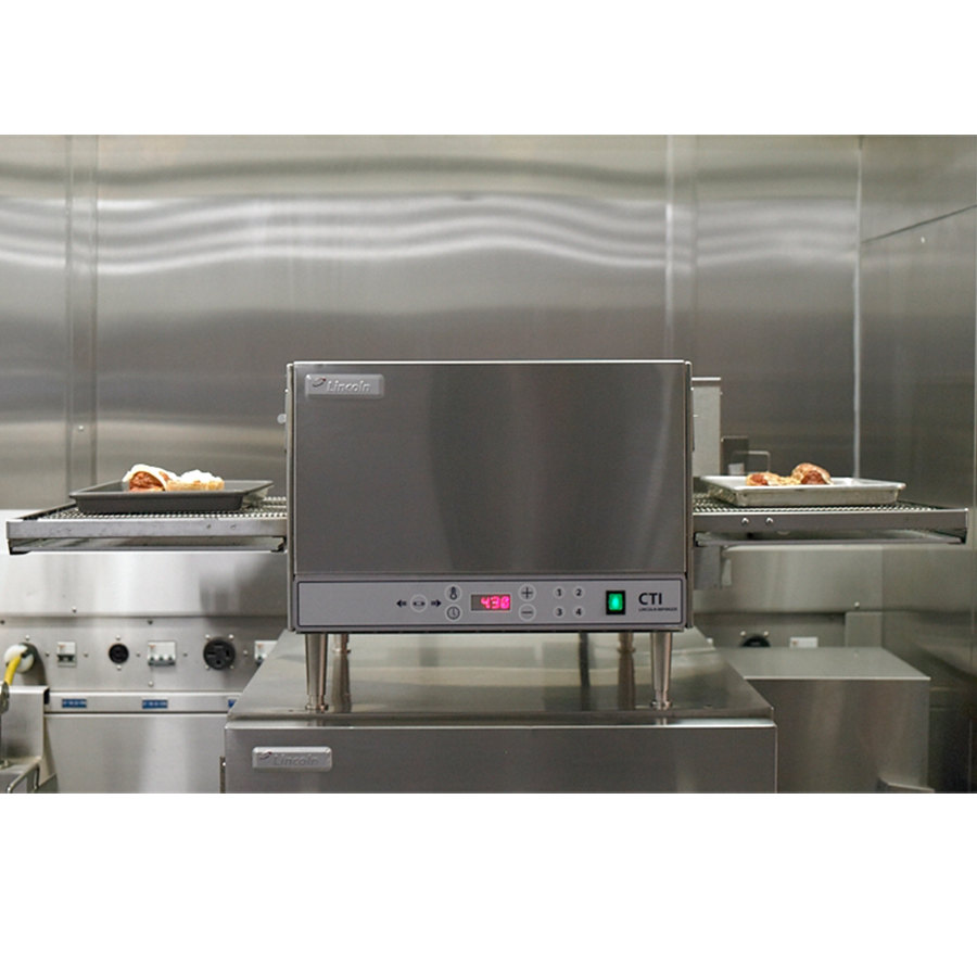 Lincoln 2500 Series Countertop Impinger (DCTI) Electric Conveyor Oven ...