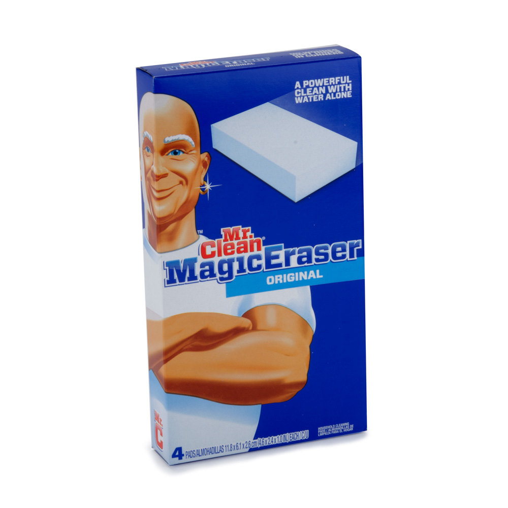 how to clean headlight magic eraser