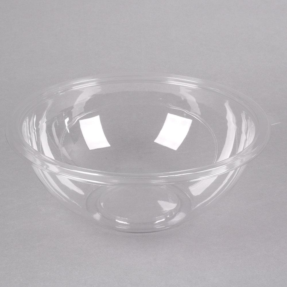 fineline 5160 cl super bowl 160 oz clear pet plastic bowl 25 case. Black Bedroom Furniture Sets. Home Design Ideas