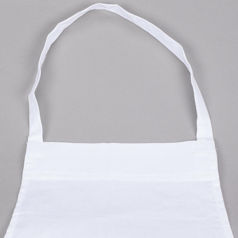 White apron gluten free -  Image Preview