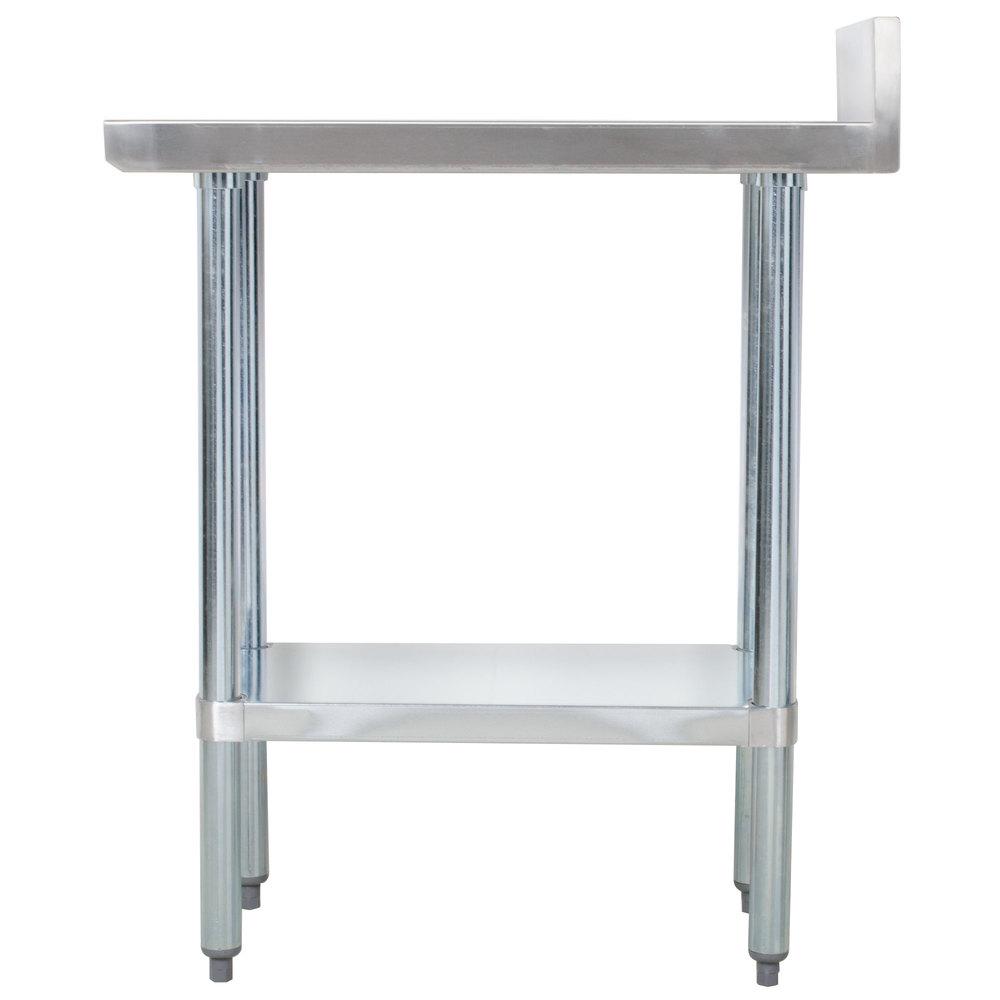 Regency 30 x 12 18 gauge 304 stainless steel equipment for 12 x 30 table