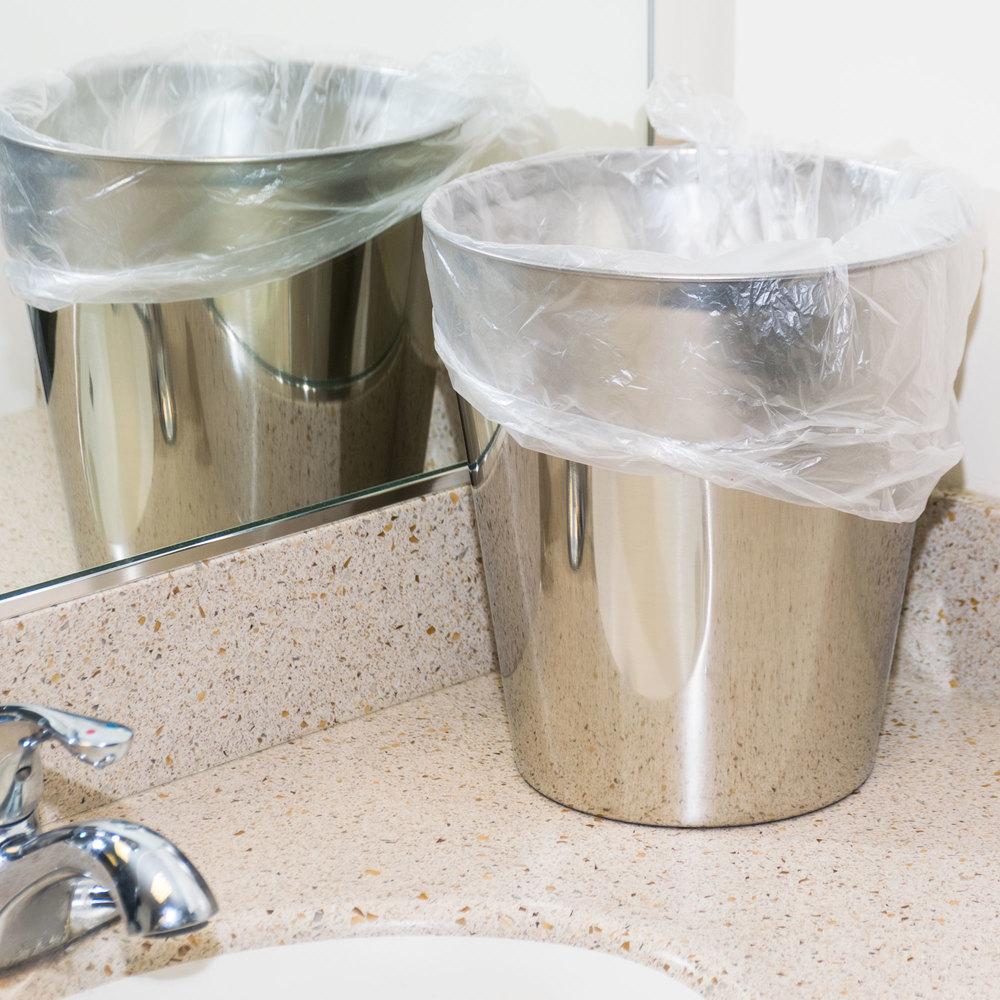 7 gallon 6 micron 20 x 22 olympian high density can liner trash bag 2000 case. Black Bedroom Furniture Sets. Home Design Ideas