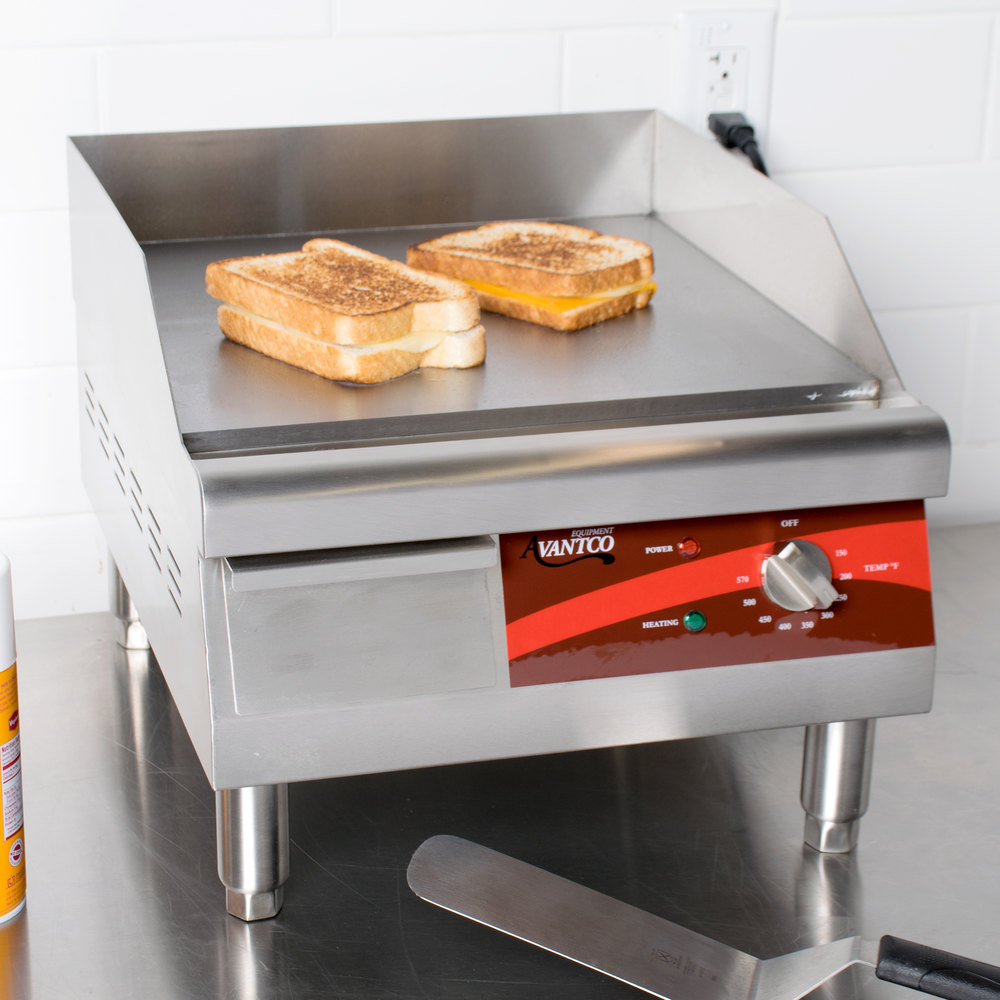 Countertop Stove With Grill : Avantco EG16N 16
