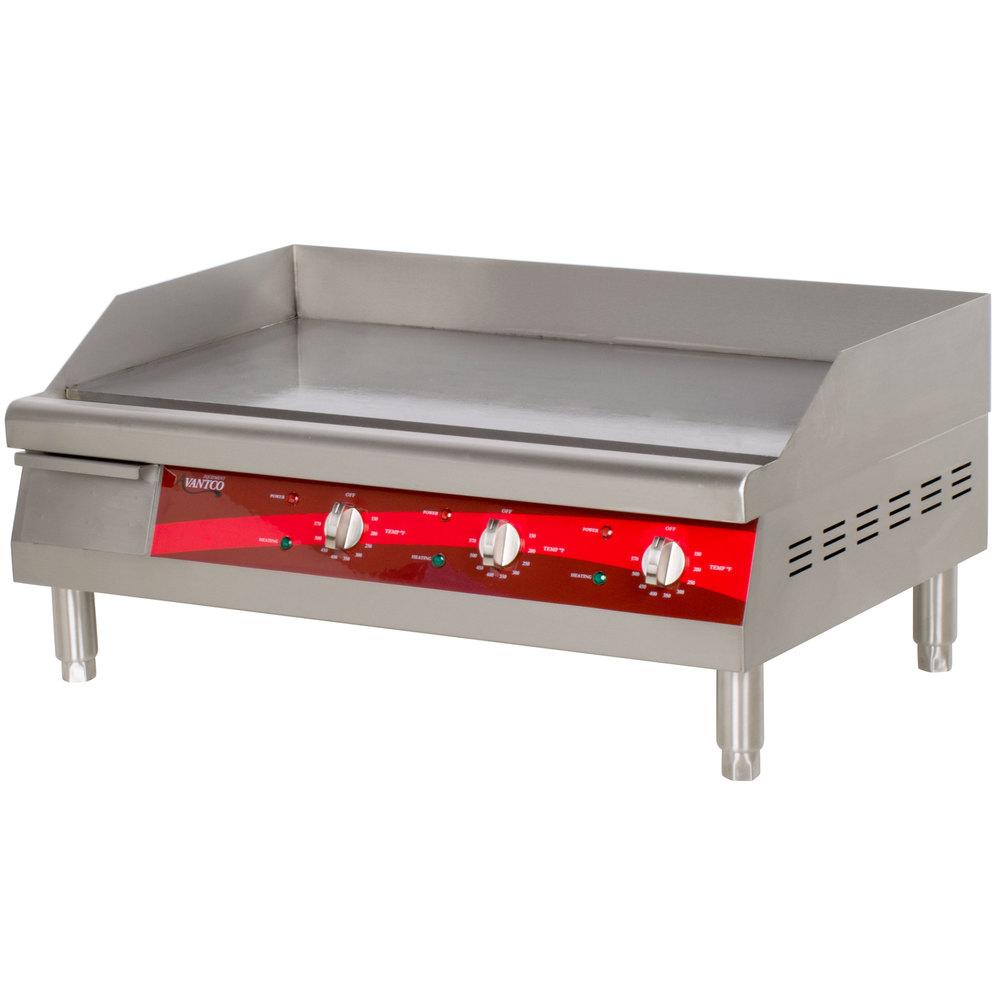 Countertop Electric Grill : Avantco EG30N 30