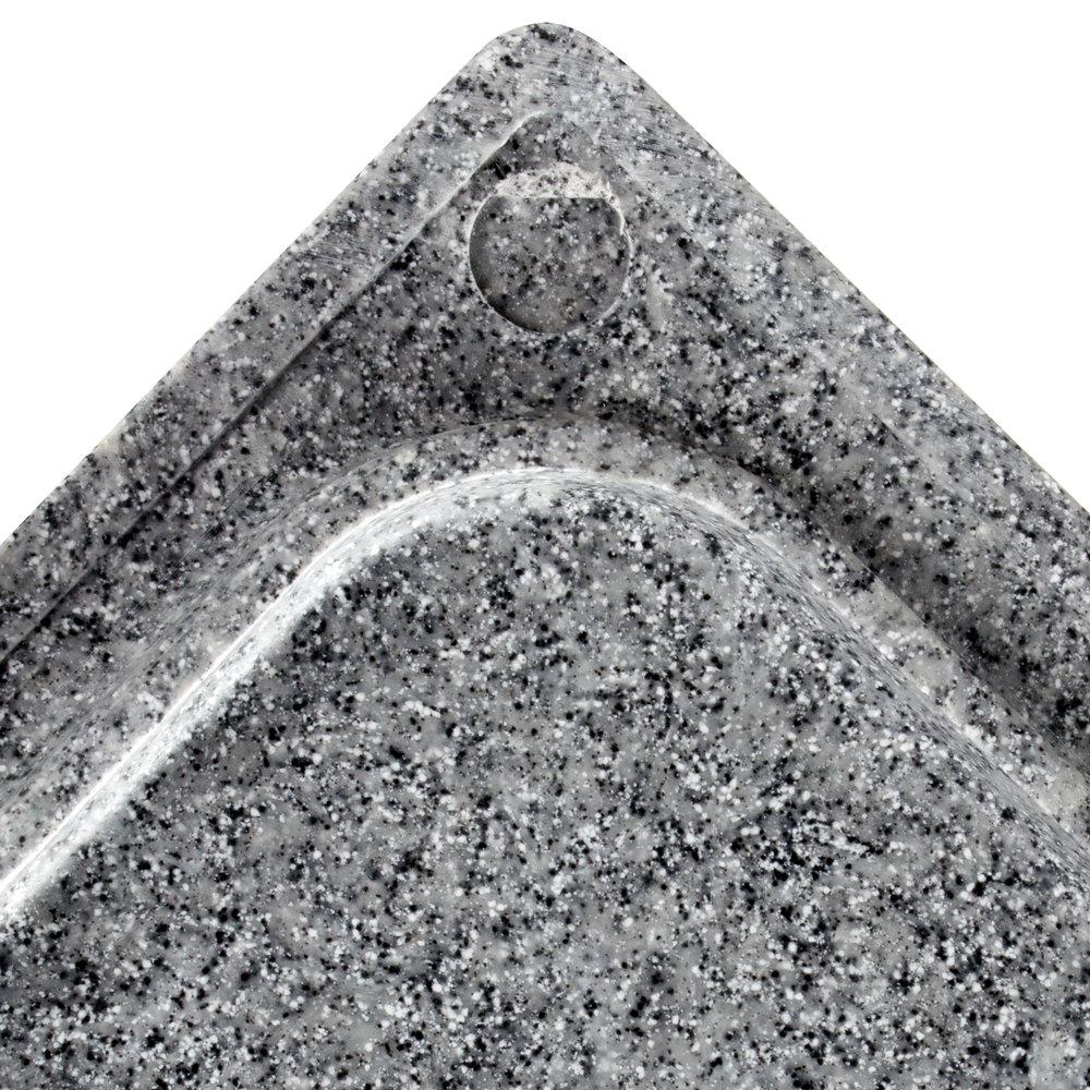 vollrath 8240024 miramar gray granite resin template. Black Bedroom Furniture Sets. Home Design Ideas