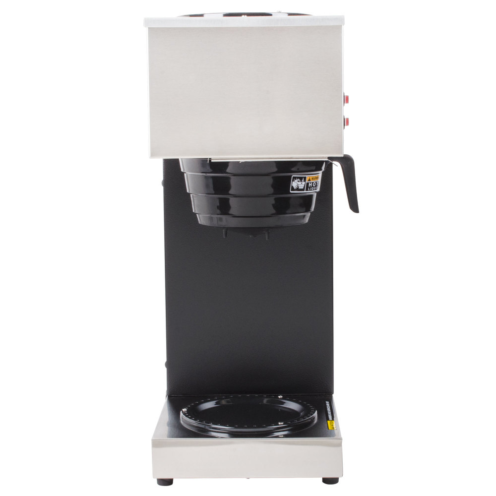 Bunn Coffee Maker Parts Vpr : Bunn 33200.0000 VPR 12 Cup Pourover Coffee Brewer with 2 Warmers - 120V