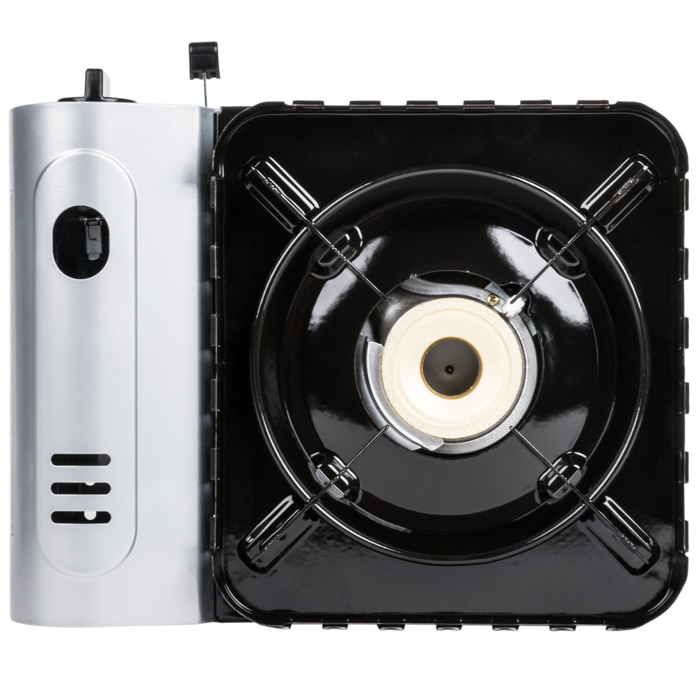 Countertop Stove Electric Igniter : Chef Master 90019 1-Burner Butane Countertop Range - 15,000 BTU
