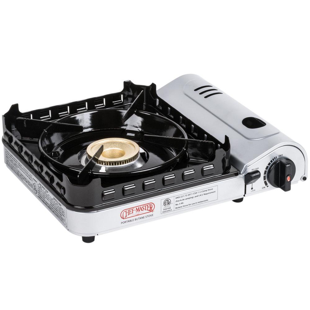 Countertop Butane Burner : Commercial+Butane+Burner Chef Master 90019 1-Burner Butane Countertop ...