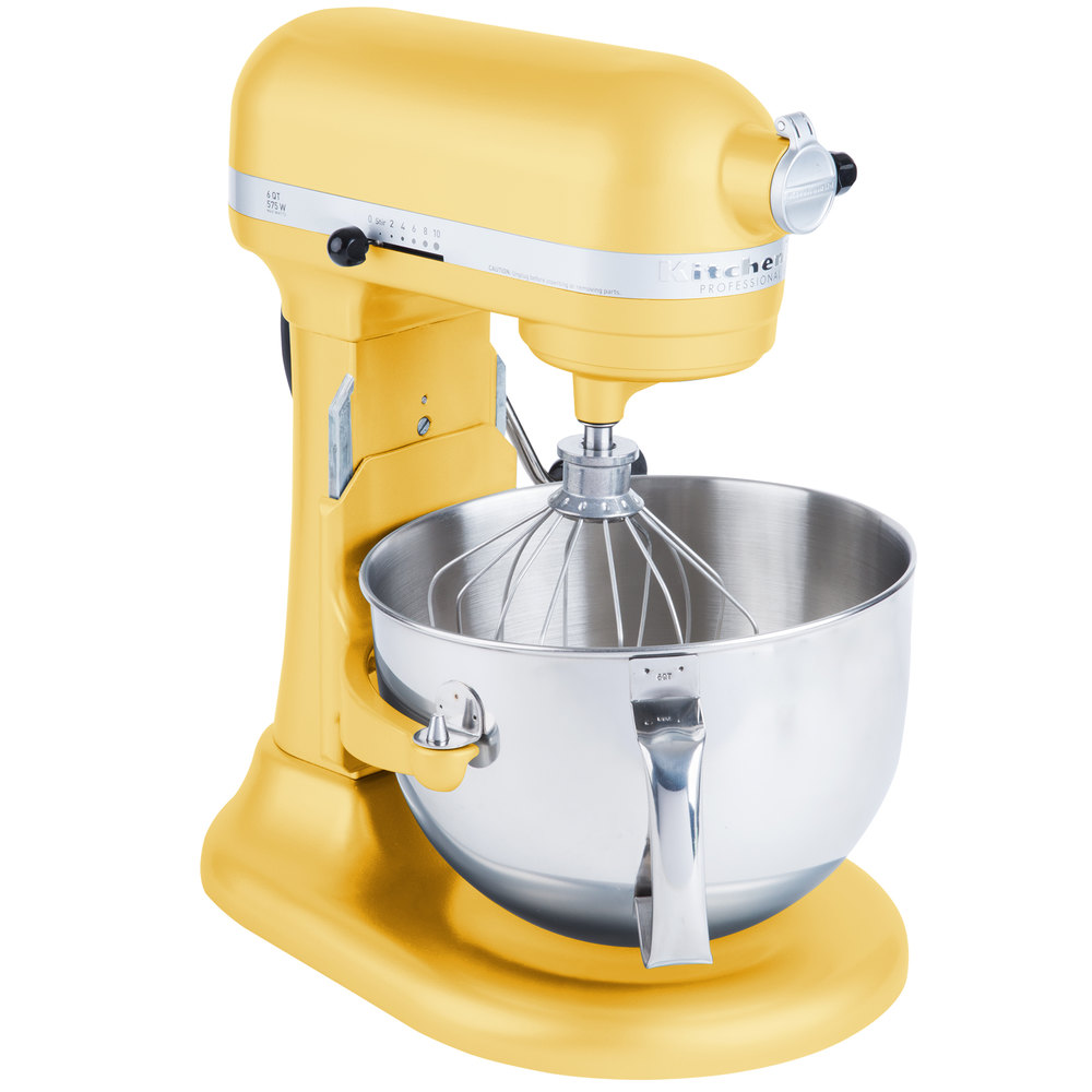 KitchenAid KP26M1XMY Majestic Yellow Professional 600  -> Kitchenaid Yellow