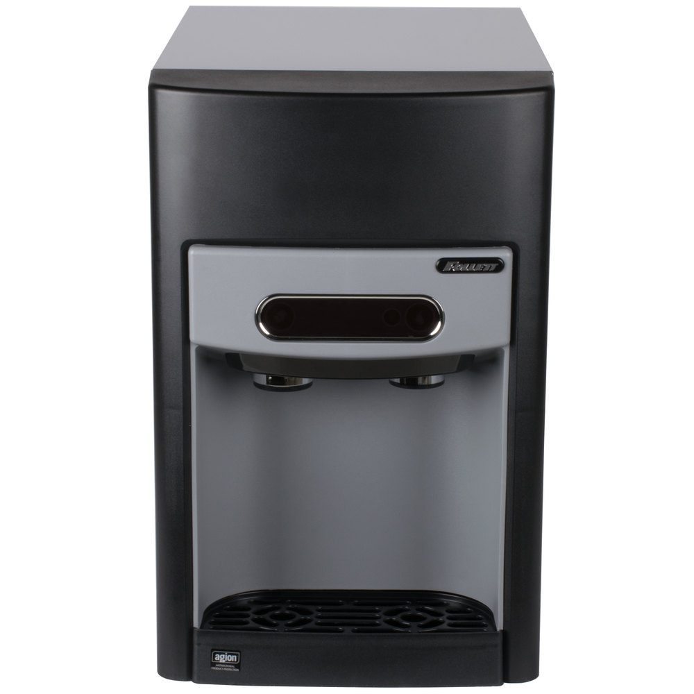 Large Capacity Countertop Ice Maker : ... Chewblet Countertop Ice Maker and Water Dispenser with Filter - 15 lb
