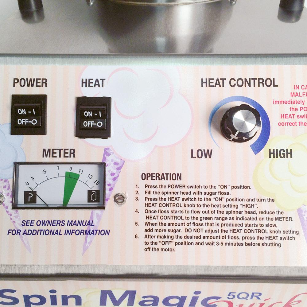 paragon spin magic 5 cotton machine