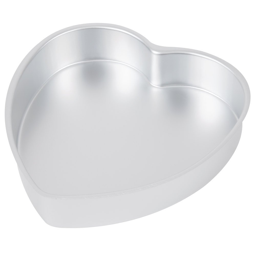 Wilton Decorator Preferred 4 Piece Heart Shaped Cake Pan Set