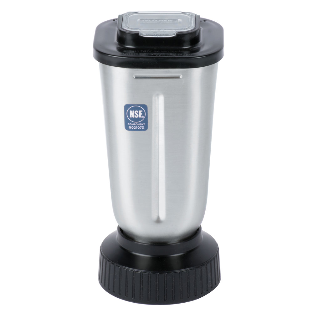 Stainless Steel Blender ~ Waring cac oz stainless steel blender jar