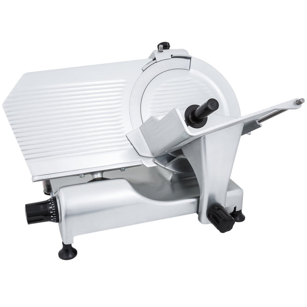 Globe Meat Slicer Parts : Globe g quot manual gravity feed slicer hp