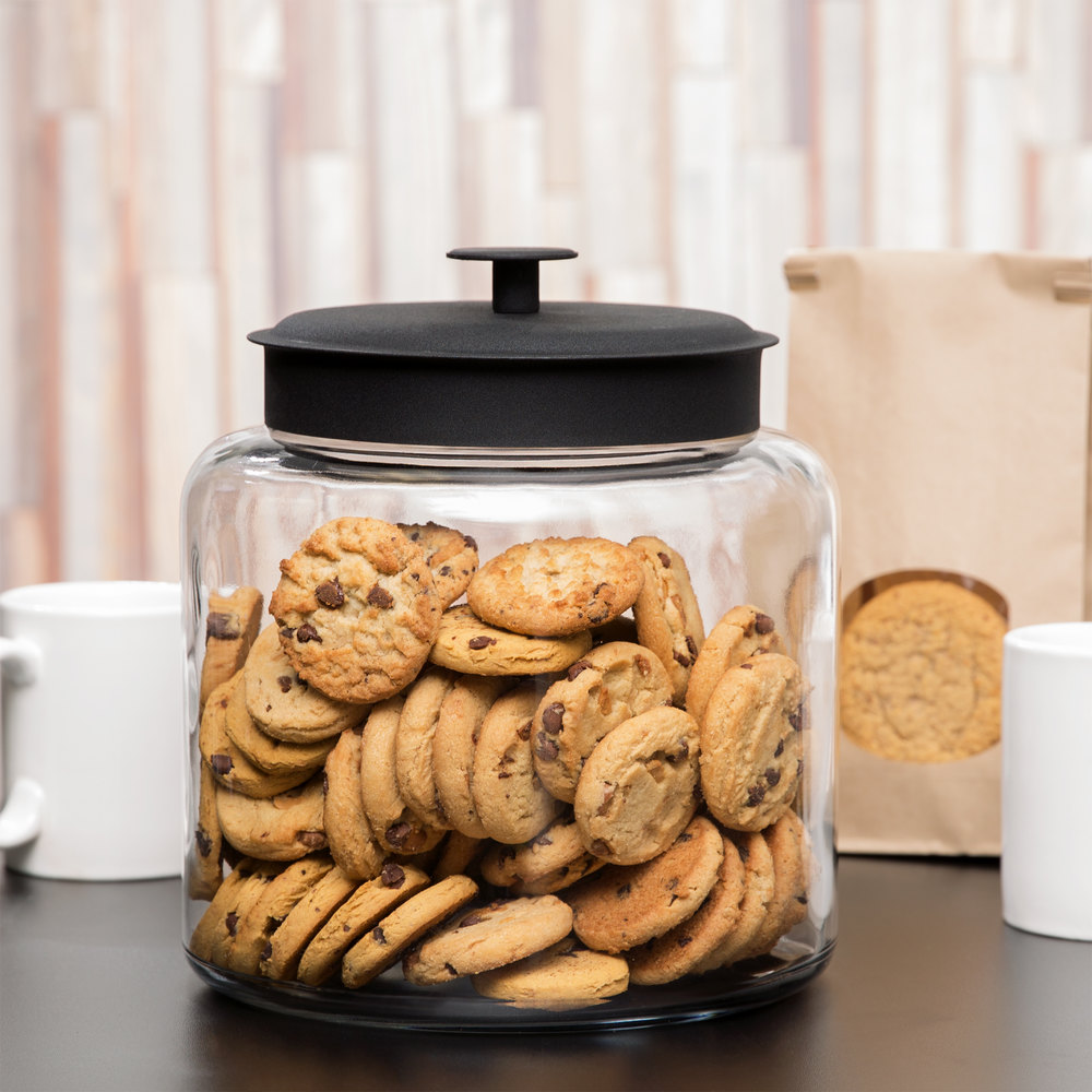 Gallon Glass Cookie Jar