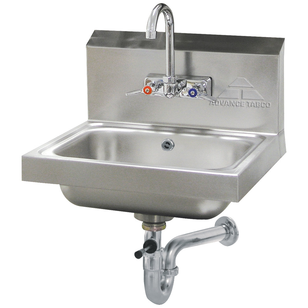 Advance Tabco 7 Ps 50 Hand Sink With Splash Mount Faucet