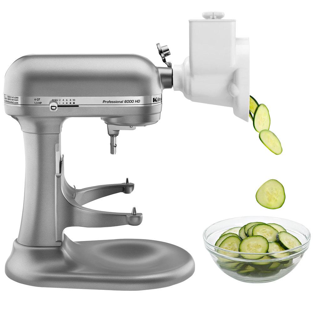 Kitchenaid Rvsa Roto Slicer Shredder Attachment For Kitchenaid Stand Mixers