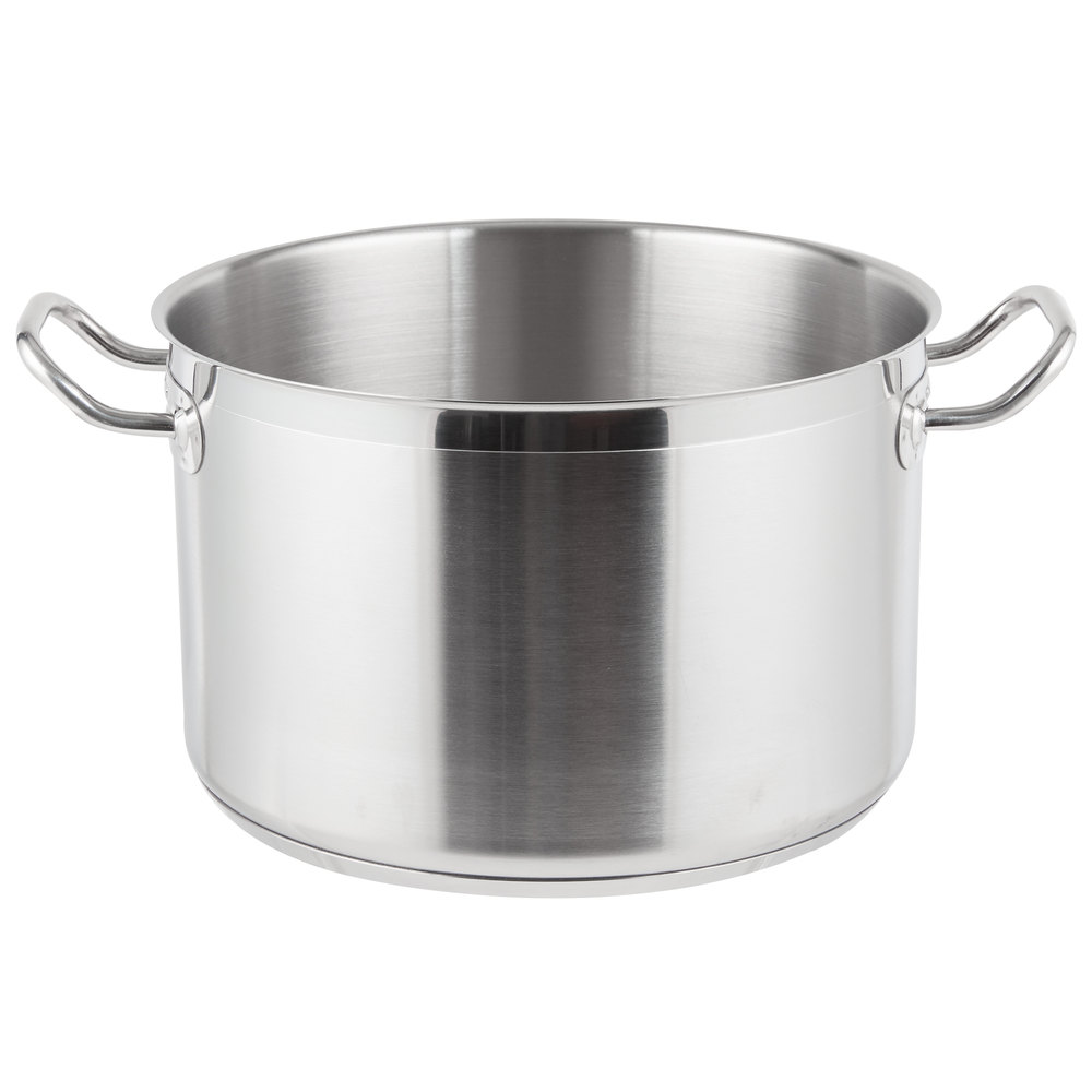 12 Qt Heavy Duty Stainless Steel Stock Pot With Cover