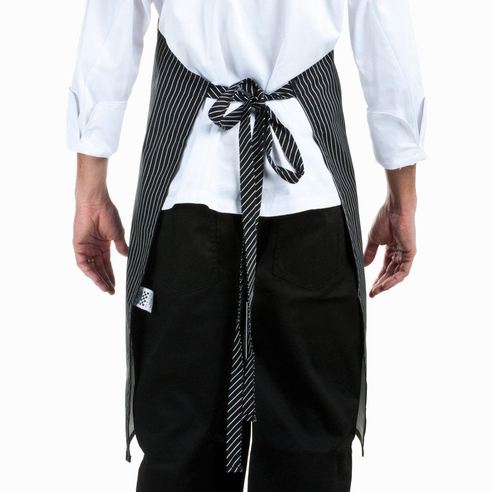 White bib apron - Video Video Main Picture Image Preview