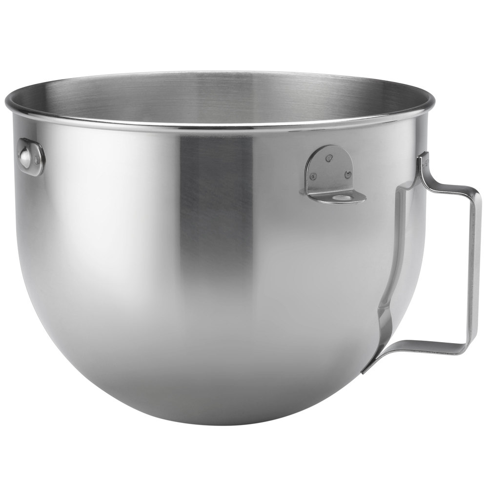 KitchenAid KN25WPBH Polished Stainless Steel 5 Qt. Mixing