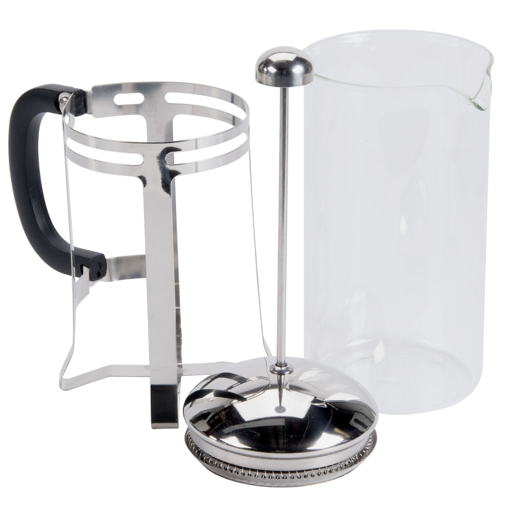33 oz glass stainless steel french coffee press. Black Bedroom Furniture Sets. Home Design Ideas