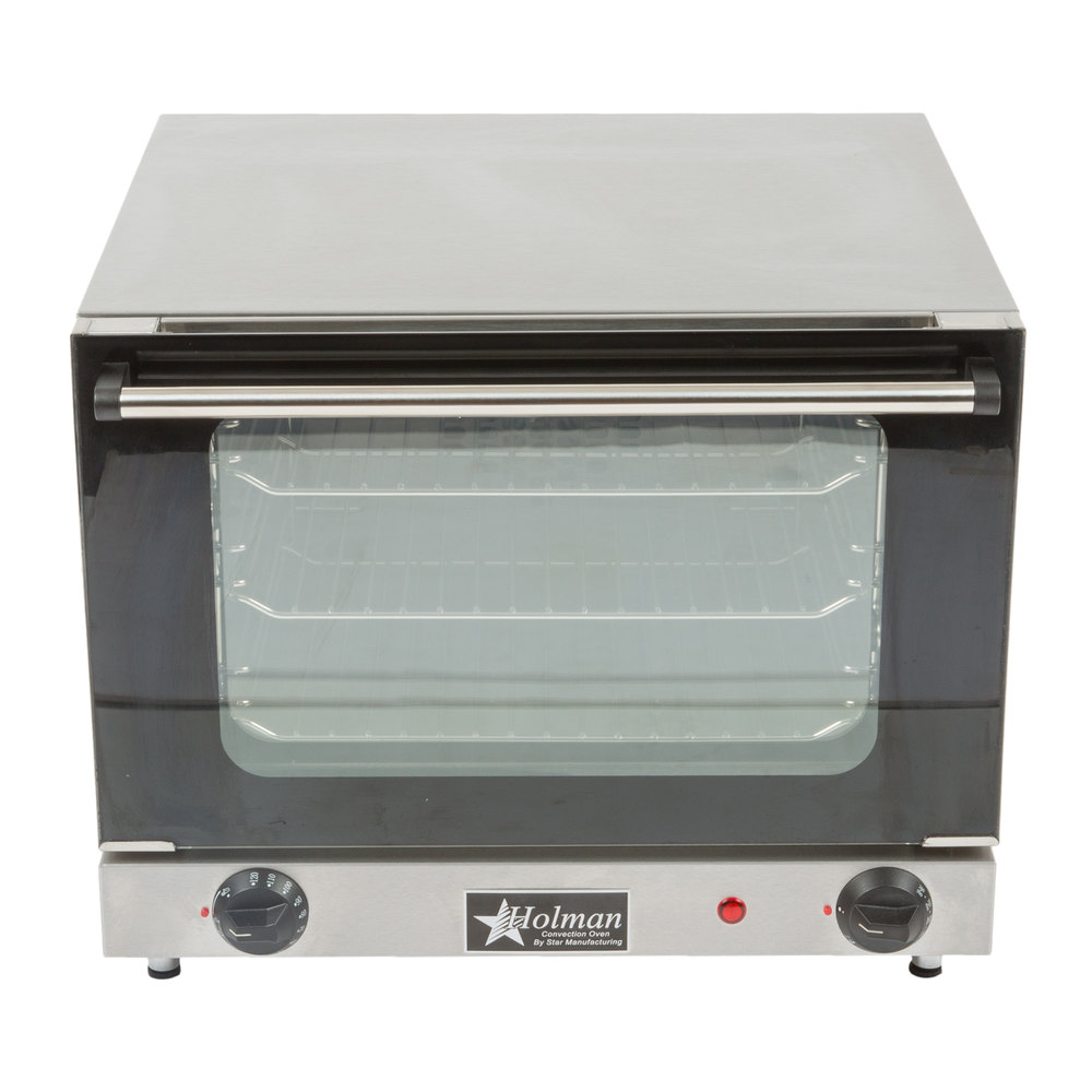 Countertop Oven Size : Star CCOQ-3 Electric Countertop Quarter Size Convection Oven 120V