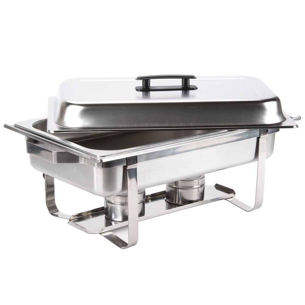 chafing dish 8 qt economy stainless steel chafer. Black Bedroom Furniture Sets. Home Design Ideas
