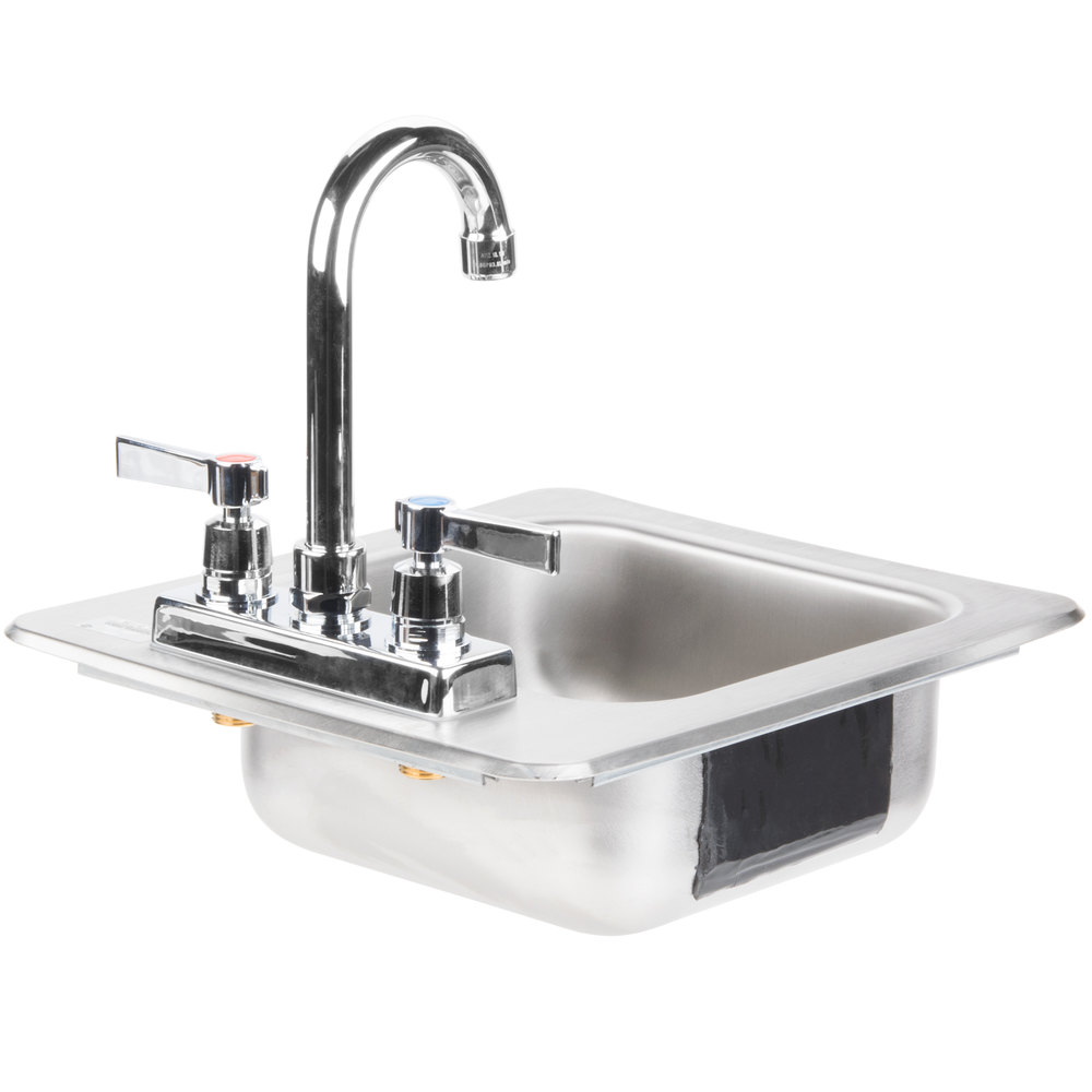 Stainless Deep Sink : Advance Tabco DI-1-25 Drop In Stainless Steel Sink 5